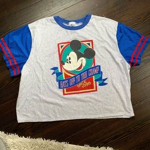 Extremely Rare VTG Mickey Mouse Tee